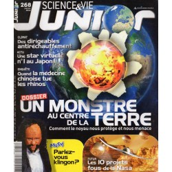 Science & Vie Junior n° 268 - Un Monstre au centre de la Terre