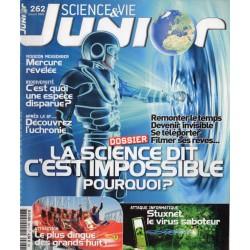 Science & Vie Junior n° 262 - La Science dit c'est impossible, pourquoi ?