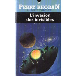 Perry Rhodan n° 26 - L'Invasion des invisibles (K.H. Scheer & Clark Darlton) Science-fiction