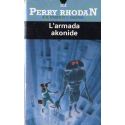 Perry Rhodan n° 102 - L'Armada Akonide (K.H. Scheer & Clark Darlton) Science-fiction