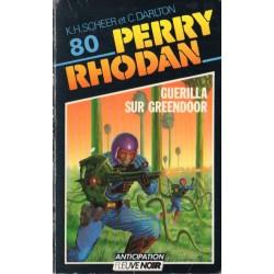 Perry Rhodan n° 80 - Guérilla sur Greendor (K.H. Scheer & Clark Darlton) Science-fiction