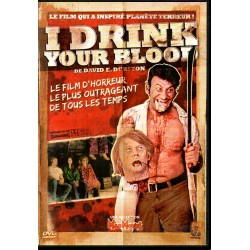 I Drink your Blood - DVD Zone 2