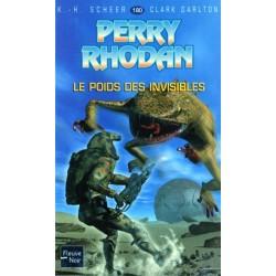 Perry Rhodan n° 180 - Le Poids des invisibles (K.H. Scheer & Clark Darlton) Science-Fiction