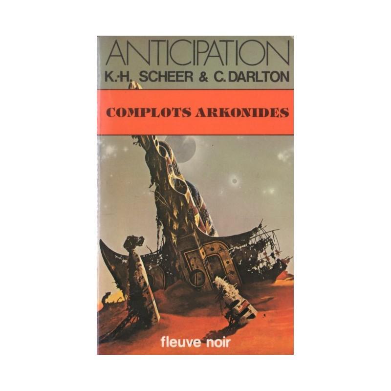 Perry Rhodan n° 53 - Complots arkonides (K.H. Scheer & Clark Darlton) Science-fiction