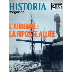 Historia Magazine 2e Guerre Mondiale n° 85 - L'Ardenne : la riposte alliée