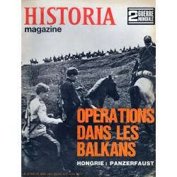 Historia Magazine 2e Guerre Mondiale n° 83 - Opérations dans les Balkans - Hongrie : Panzerfaust