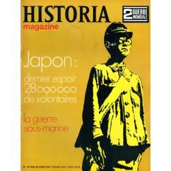 Historia Magazine 2e Guerre Mondiale n° 94 - Japon : dernier espoir, 28 millions de volontaires