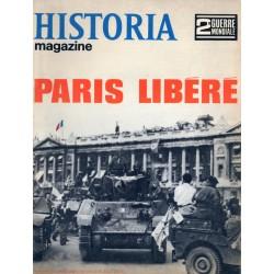 Historia Magazine 2e Guerre Mondiale n° 76 - PARIS libéré