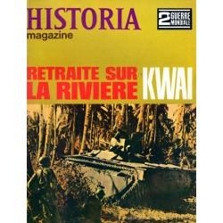 Historia Magazine 2e Guerre Mondiale n° 75 - Retraite sur la rivière KWAI