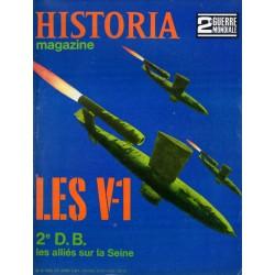 Historia Magazine 2e Guerre Mondiale n° 73 - Les V-1 ( Vergeltungswaffe : arme de représailles)