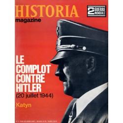 Historia Magazine 2e Guerre Mondiale n° 71 - Le complot contre Hitler (20 juillet 1944) - Katyn