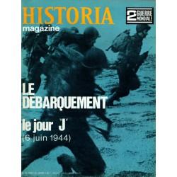 """Historia Magazine 2e Guerre Mondiale n° 68 - Le Débarquement : le Jour """"J"""" (6 juin 1944)"""