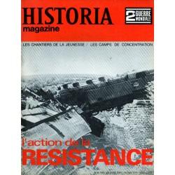 Historia Magazine 2e Guerre Mondiale n° 64 - L'action de la RESISTANCE