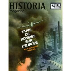Historia Magazine 2e Guerre Mondiale n° 62 - Tapis de bombes sur l'Europe, les forteresses volantes