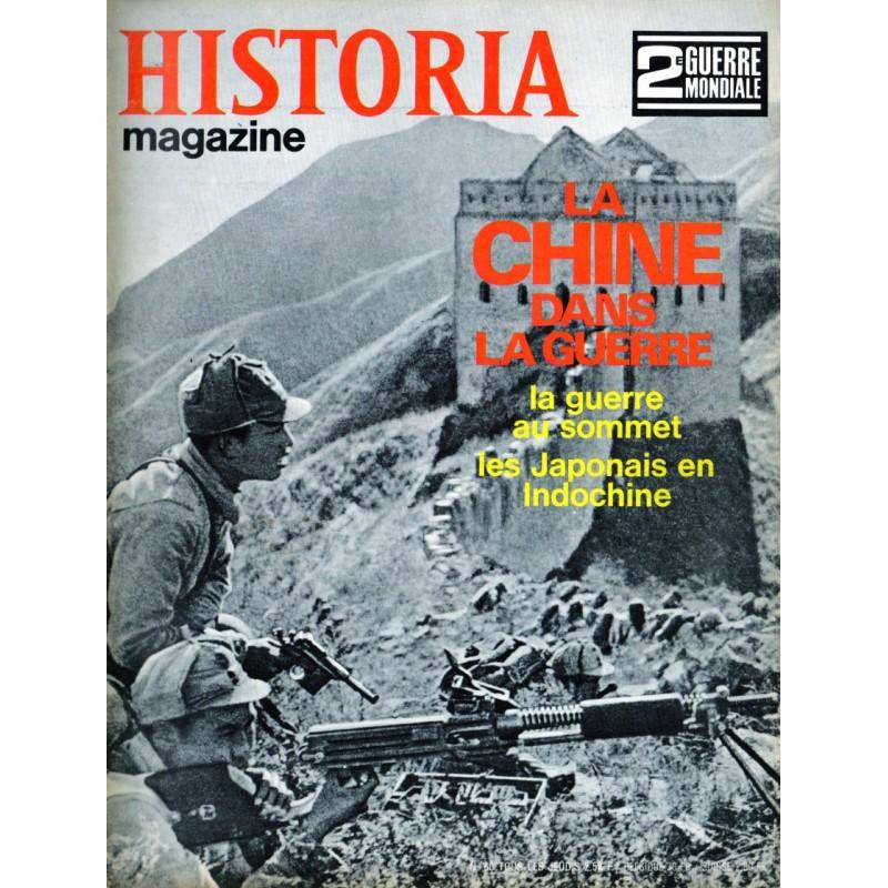 Historia Magazine 2e Guerre Mondiale n° 60 - La CHINE dans la Guerre