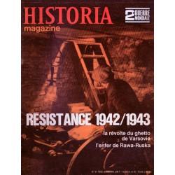 Historia Magazine 2e Guerre Mondiale n° 51 - Résistance 1942/1943