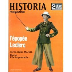 Historia Magazine 2e Guerre Mondiale n° 48 - L'épopée Leclerc sur la ligne de Mareth