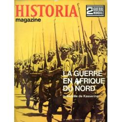 Historia Magazine 2e Guerre Mondiale n° 46 - La Guerre en Afrique du Nord - La Bataille de Kasserine