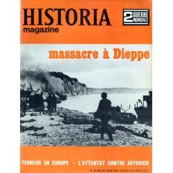 Historia Magazine 2e Guerre Mondiale n° 40 - Massacre à Dieppe