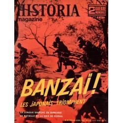 Historia Magazine 2e Guerre Mondiale n° 35 - Banzaï ! Les Japonais triomphent