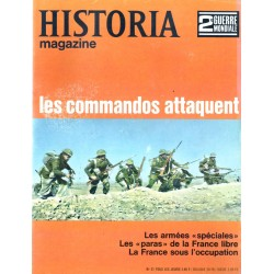 Historia Magazine 2e Guerre Mondiale n° 31 - Les commandos attaquent
