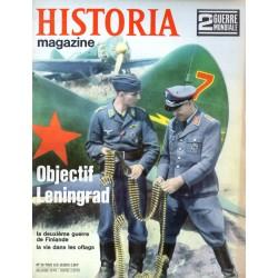 Historia Magazine 2e Guerre Mondiale n° 26 - Objectif Leningrad