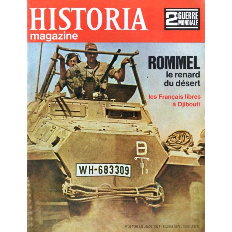 Historia Magazine 2e Guerre Mondiale n° 23 - ROMMEL le renard du désert