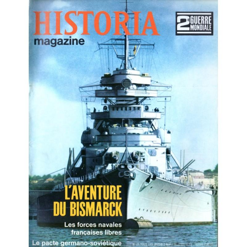 Historia Magazine 2e Guerre Mondiale n° 21 - L'Aventure du Bismarck