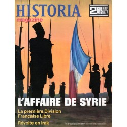 Historia Magazine 2e Guerre Mondiale n° 20 - L'Affaire de Syrie