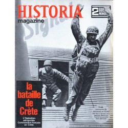 Historia Magazine 2e Guerre Mondiale n° 19 - La Bataille de Crète