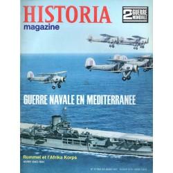 Historia Magazine 2e Guerre Mondiale n° 16 - Guerre navale en méditerranée