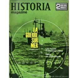 Historia Magazine 2e Guerre Mondiale n° 14 - La Guerre sur Mer (Octobre 1940)