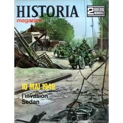 Historia Magazine 2e Guerre Mondiale n° 8 - 10 mai 1940, l'invasion - Sedan