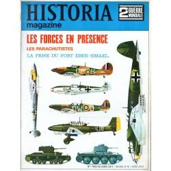 Historia Magazine 2e Guerre Mondiale n° 7 - Les Forces en présence