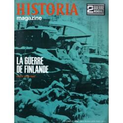 Historia Magazine 2e Guerre Mondiale n° 5 - La Guerre de Finlande (hiver 1939-1940)