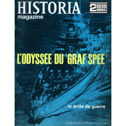"""Historia Magazine 2e Guerre Mondiale n° 4 - L'Odyssée du """"Graf Spee"""""""