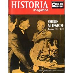 Historia Magazine 2e Guerre Mondiale n° 2 - Prélude au désastre - L'Europe 1919-1939