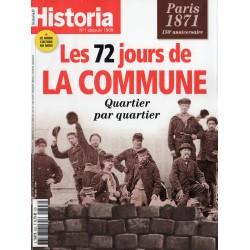 Historia n° 893 - Paris 1871 - Les 72 jours de LA COMMUNE, quartier par quartier