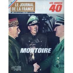 Le Journal de la France (de l'occupation à la libération) n° 121 - Montoire, rencontre historique improvisée