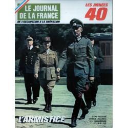Le Journal de la France (de l'occupation à la libération) n° 109 - L'Armistice