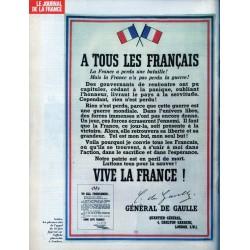 Le Journal de la France (de l'occupation à la libération) n° 108 - Le 18 juin