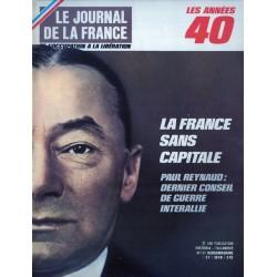 Le Journal de la France (de l'occupation à la libération) n° 103 - La France sans Capitale