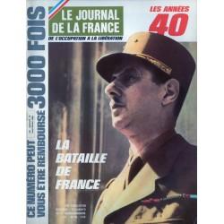 Le Journal de la France (de l'occupation à la libération) n° 101 - La Bataille de France
