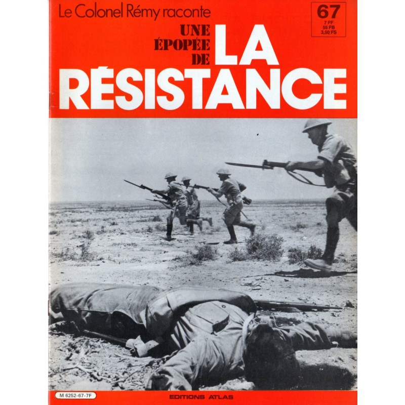 Le Colonel Rémy raconte Une Épopée de la Résistance n° 67 - Bir Hakeim