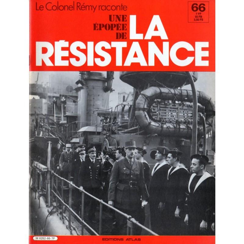 Le Colonel Rémy raconte Une Épopée de la Résistance n° 66 - Naissance des Forces navales françaises libres