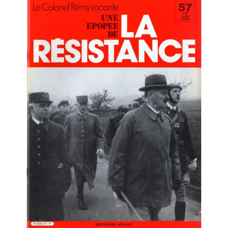 Le Colonel Rémy raconte Une Épopée de la Résistance n° 57 - Avec les honneurs de la Guerre