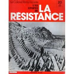 Le Colonel Rémy raconte Une Épopée de la Résistance n° 20 - Le mur de l'atlantique : Après l'Opération Biting