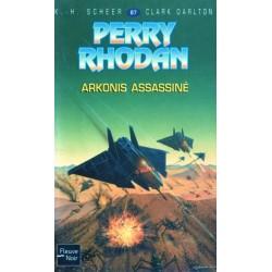 Perry Rhodan n° 87 - Arkonis assassiné (K.H. Scheer & Clark Darlton) Science-fiction