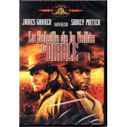 La Bataille de la Vallée du Diable (James Garner, Sidney Poitier) - DVD Zone 2