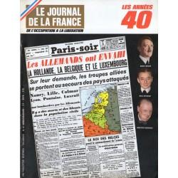 Le Journal de la France (de l'occupation à la libération) n° 96 - Invasion 10 mai 1940